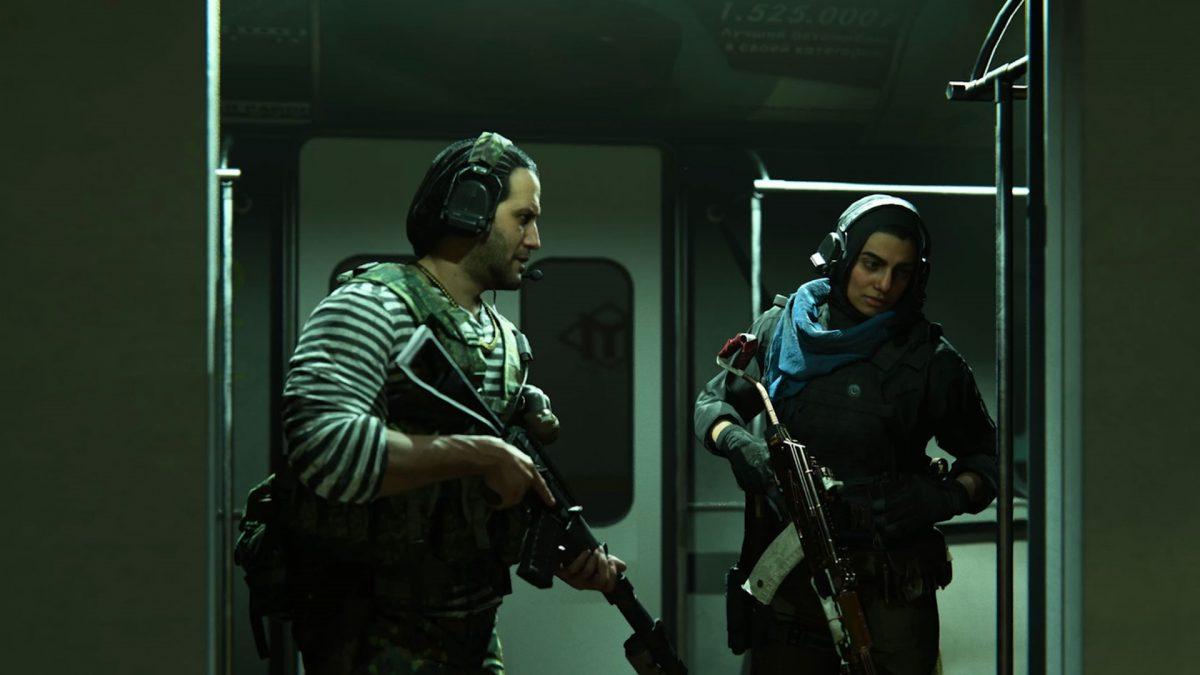 سیستم متروی زیرزمینی Warzone
