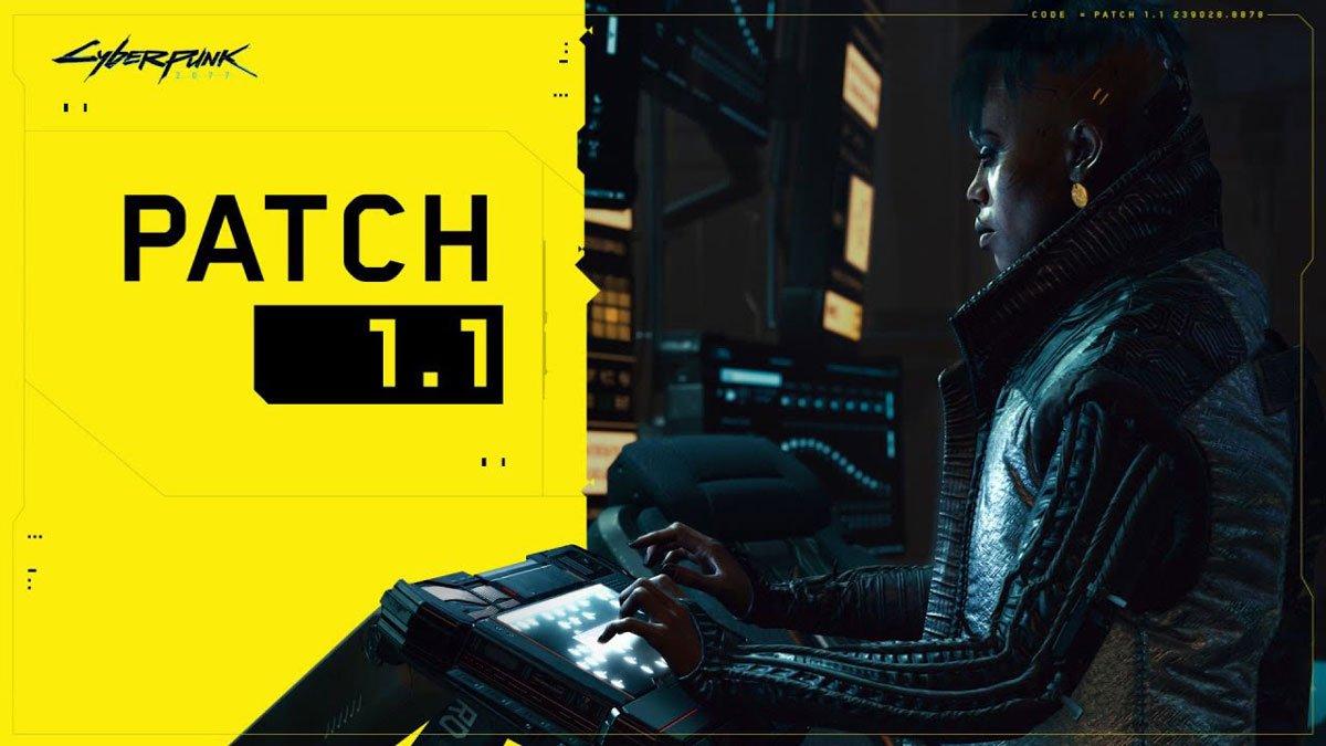 آپدیت 1.1 بازی Cyberpunk 2077