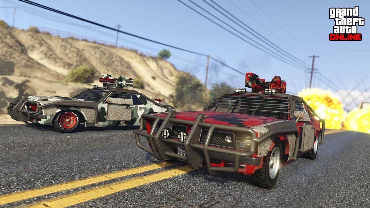 پاداشهای هفتهی دوم ماه مِی GTA Online