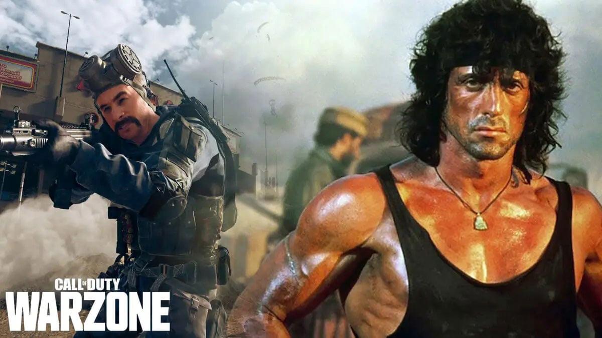 اضافه شدن اسکین Rambo به Warzone