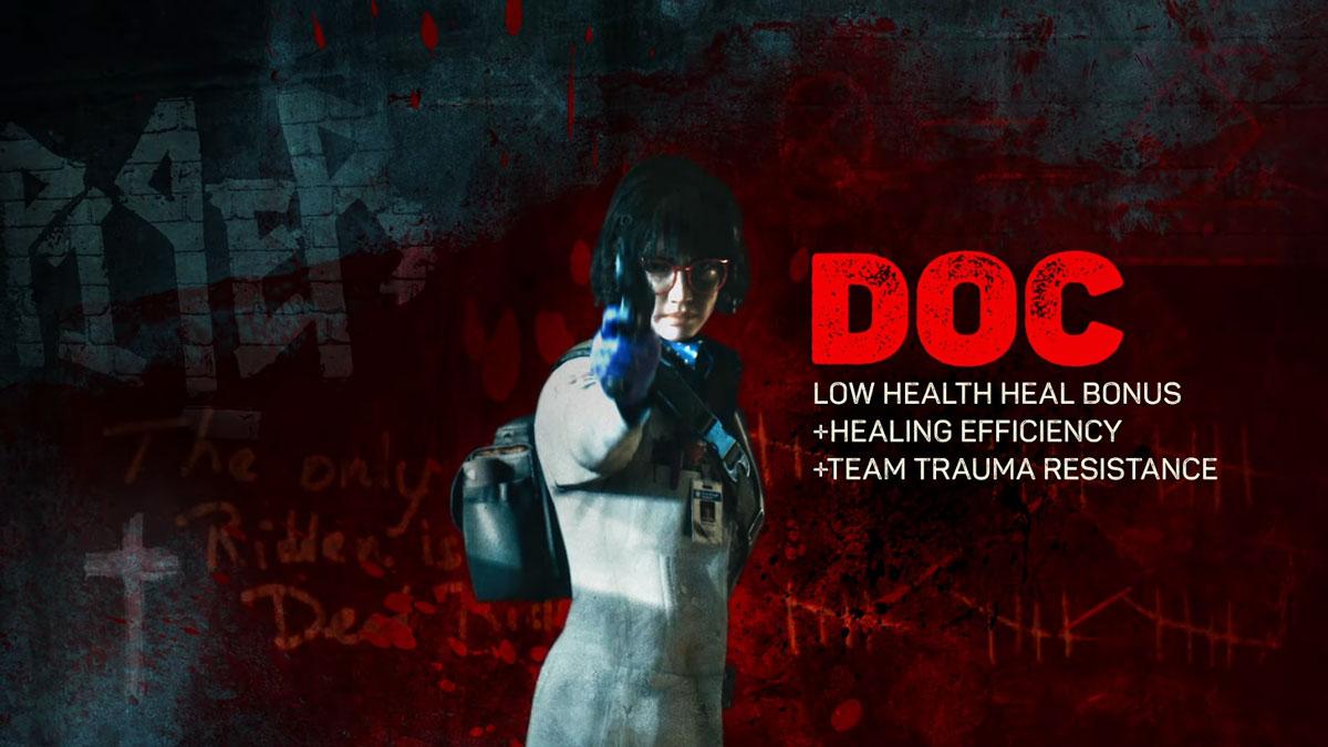 طرز باز کردن کاراکتر Doc در بازی Back 4 Blood