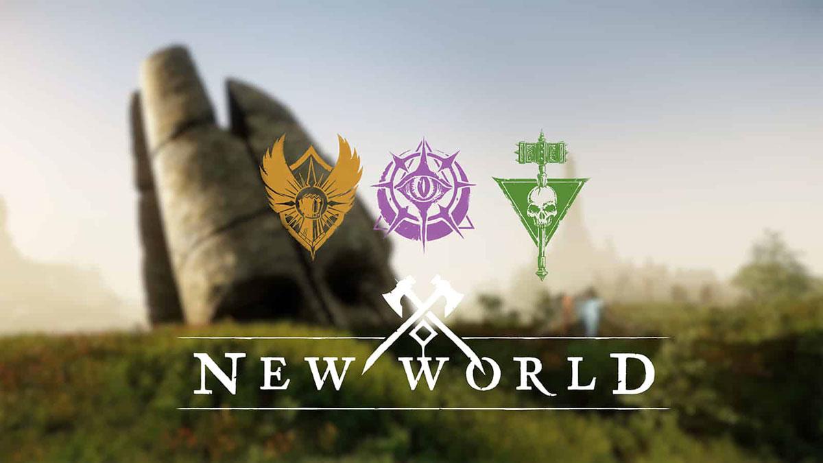 انتخاب Faction در بازی New World